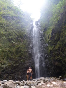 Hawaii Oahu Koolau Kaipapau Falls Waterfall Trek Hike Hiking Stream Adventure Exploration Explore