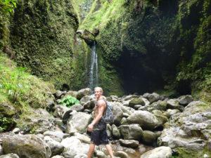 3rd Third waterfall seven 7 falls Hike Oahu Hawaii Hiking adventures explore exploration