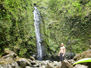 6th sixth seventh 7th seven 7 falls waterfall hike hiking Oahu Hawaii