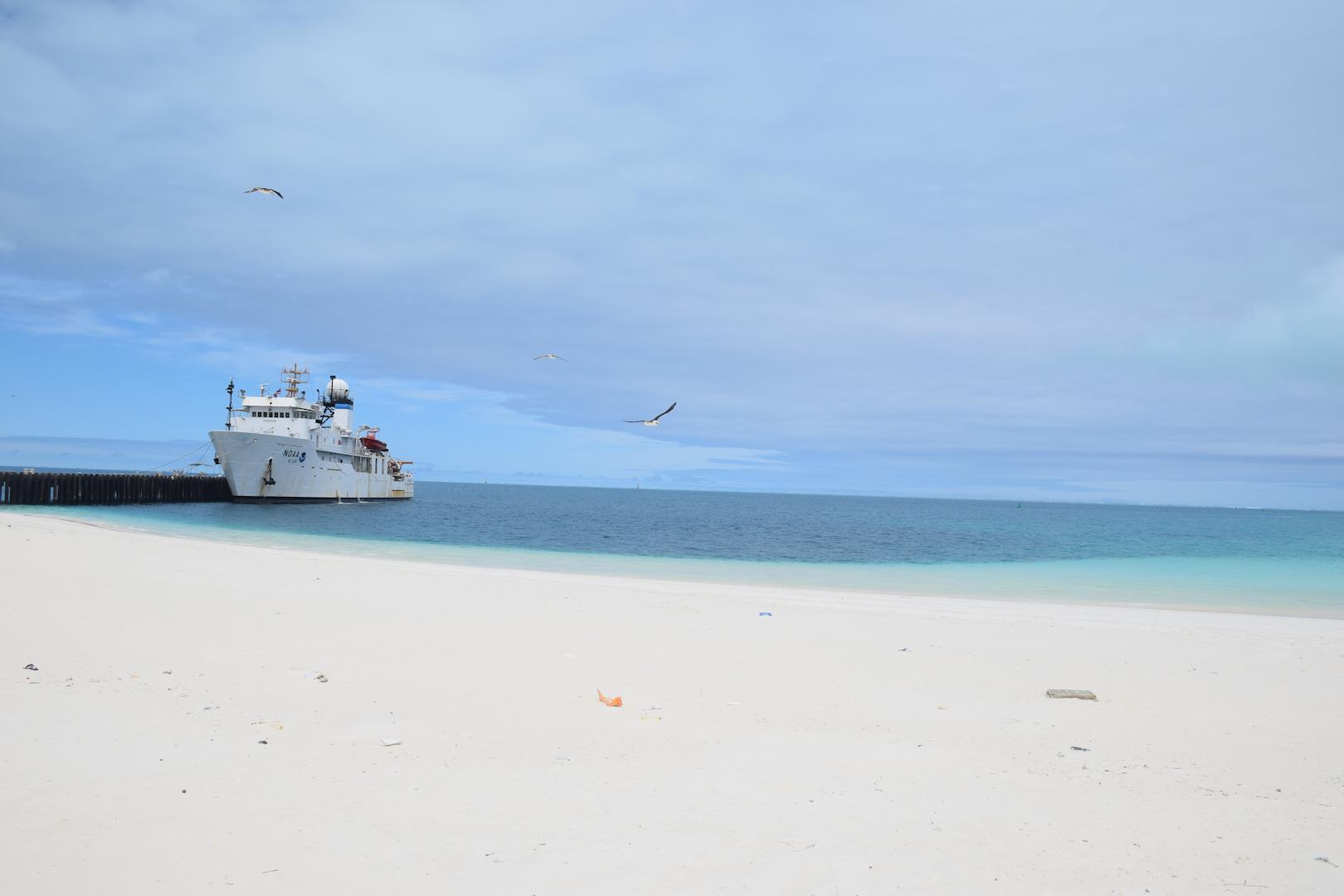 NOAA, Ship, Hi'ialakai, Midway, Atoll, Island, Maine, Debris, Cruise