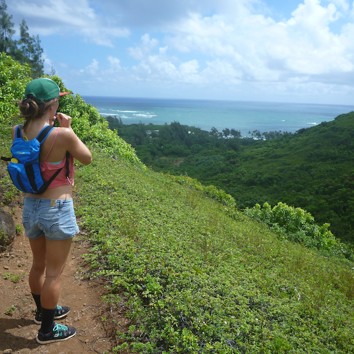 Hiking, Hawaii, Girl, Chick, Oahu