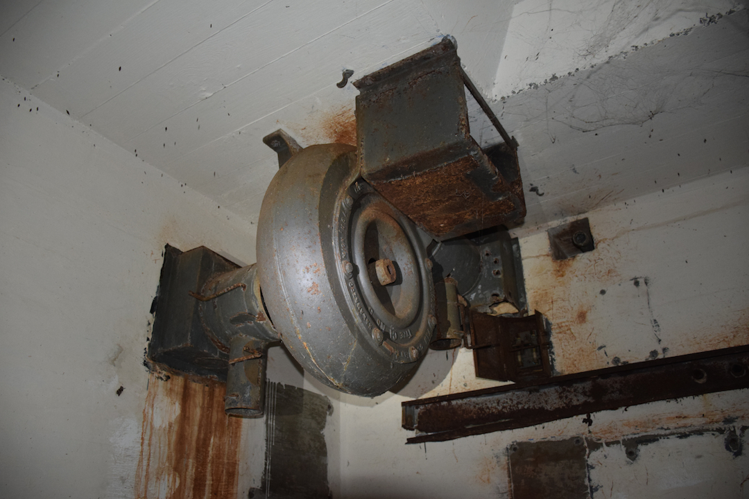 ventilation, Oahu, Hawaii, WWII, World War, 2, two, bunker, battery, underground, fan, aeration,