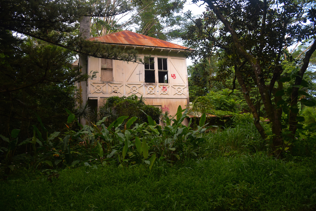 Haunted, house, manor, plantation, home, mansion, abandoned, forest, jungle, Maunawili, Oahu, Hawaii, Ranch, Boyd, Irwin, Creepy, Scary