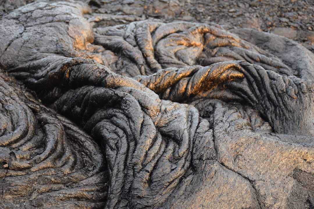 Hawaii, big, island, kilauea, kalapana, lava, dried, rock, igneous
