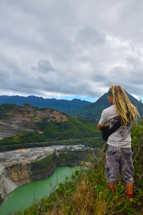 Hiking, Adventure, Exploring, Oahu, Hawaii, Kaneohe, Bay, Friendship, garden, Oneawe, hills, Kapaa, quarry, dreads, dreadlocks