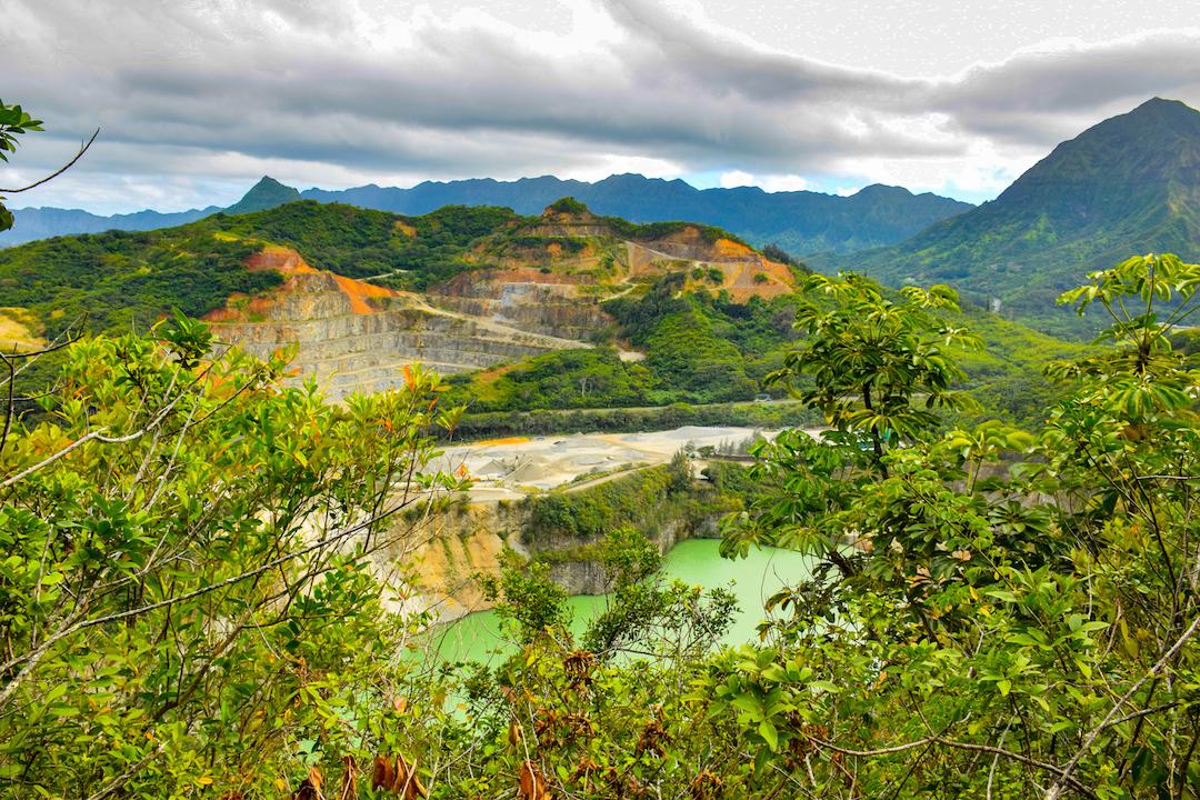 Hiking, Adventure, pond, underground, water table, Exploring, Oahu, Hawaii, Kaneohe, Bay, Friendship, garden, Oneawe, hills, Kapaa, quarry