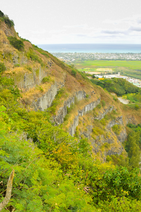 Hawaii, Oahu, hiking, mountain, terrace, land, quarry, kappa