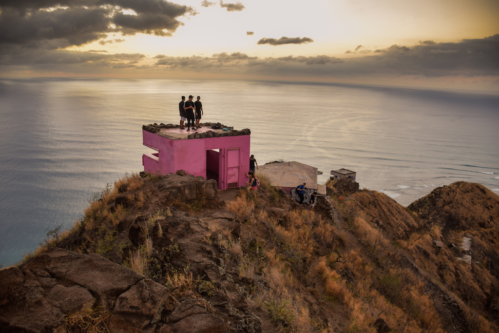 Puu O Hulu, Puu, O, Hulu, West Side, Waianae, Oahu, Hawaii, Hike, Adventure, Explore, WWII, World War, two, 2, II, Coastal defense, military, reservation, urban, urbex, abandoned, bunker, pill box, outpost, lookout, ocean view, ridge